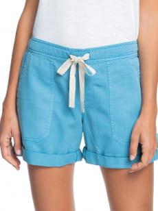 Голубой женские шорты life is sweeter