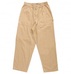 Бежевый мужские брюки mechanic