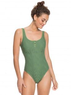 Зеленый женский купальник love song