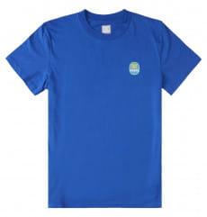 Голубой мужская футболка bananas