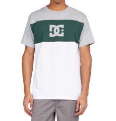 Белый мужская футболка glen end