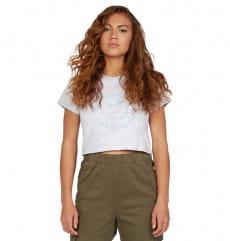 Женская укороченная футболка Trippin