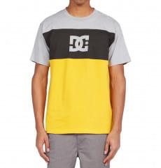 Желтый мужская футболка glen end