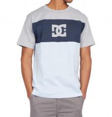 Голубой мужская футболка glen end