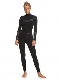 Женский гидрокостюм с длинным рукавом и молнией на груди 3/2mm S