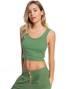 Зеленый женский топ в рубчик spring getaway