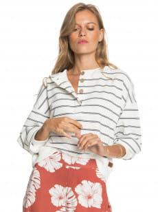 Белый женский свитшот sea stoke