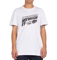 Белый мужская футболка hot 94