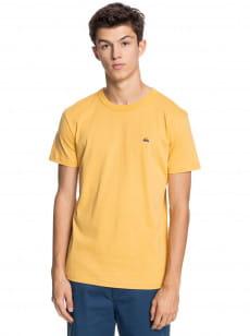 Желтый мужская футболка essentials