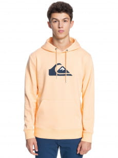 Персиковое мужское худи comp logo