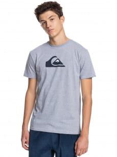 Серый мужская футболка comp logo