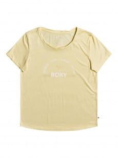 Желтый женская футболка chasing the swell