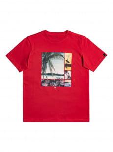 Красный детская футболка hidden cove 8-16