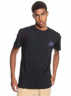 Черный мужская футболка gold to glass