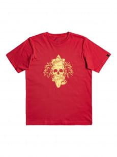 Красный детская футболка night surfer 8-16