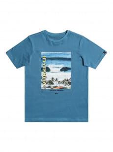 Голубой детская футболка scenic drive 8-16