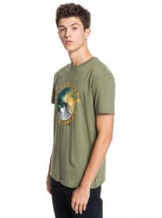 Зеленый мужская футболка ocean of night