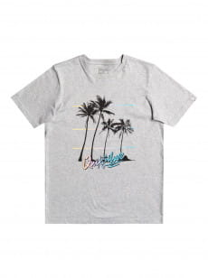 Серый детская футболка over the mountain 8-16