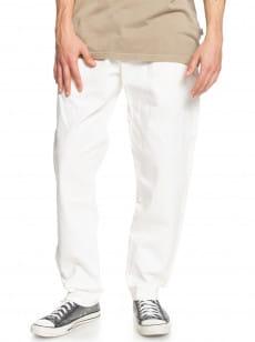 Белый мужские брюки-чинос originals loose rider