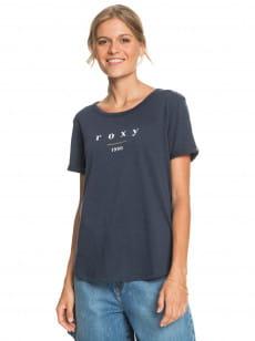 Синий женская футболка oceanholic