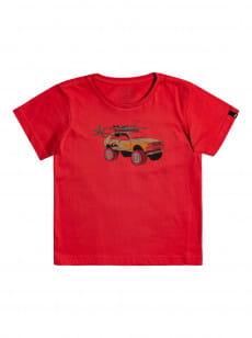 Красный детская футболка very rootsy 2-7