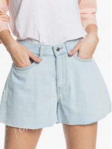 Серые женские джинсовые шорты the denim short