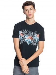 Черный мужская футболка с карманом paradise express
