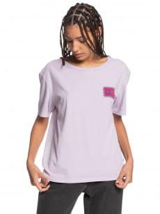 Фиолетовый женская футболка standard