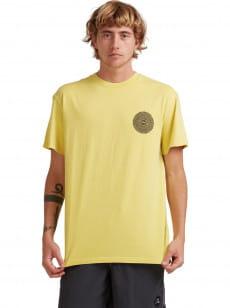 Желтый мужская футболка originals nucleus