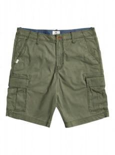 Зеленый мужские шорты-карго ichaca