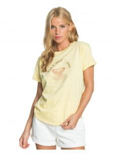 Желтый женская футболка epic afternoon