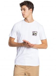 Белый мужская футболка isle of stoke