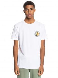 Белый мужская футболка mellow phonic