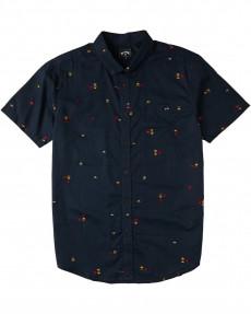 Коралловый мужская рубашка с короткими рукавами sundays mini