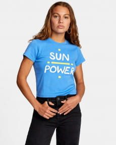 Женская футболка Bailey Elder Sun Power