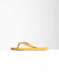 Желтые женские сандалии sunlight