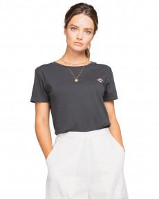 Серый женская футболка-бойфренд flown