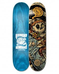"""Дека для скейтборда Timber High Dry Skull 8.25"""""""