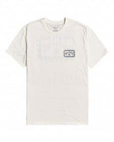 Серый мужская футболка adventure division arch wave