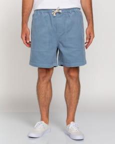 """Голубой мужские вельветовые шорты manual corduroy 17"""""""