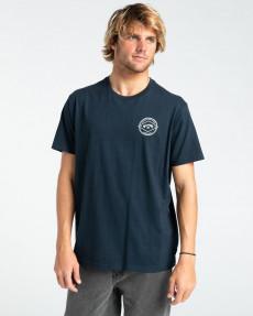 Синий мужская футболка rotor arch
