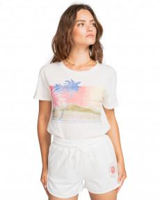 Белый женские спортивные шорты relax
