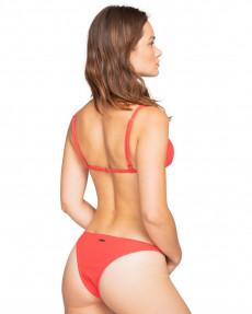 Красные женские плавки со средней площадью покрытия feels like love isla