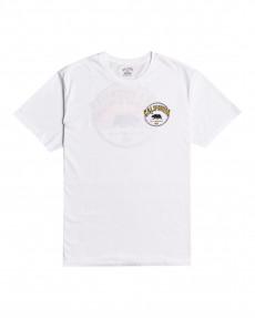 Белый мужская футболка dreamy places