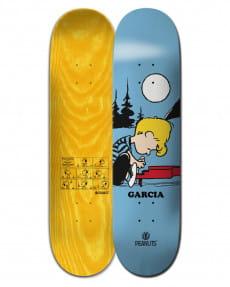 "Желтый дека для скейтборда peanuts schroeder x nick garcia 8.25"""