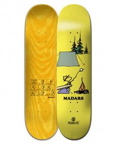 """Желтый дека для скейтборда peanuts woodstock x madars 8.25"""""""