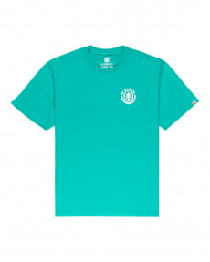 Бирюзовый мужская футболка balmore