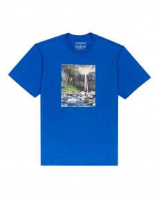 Голубой футболка peanuts adventure