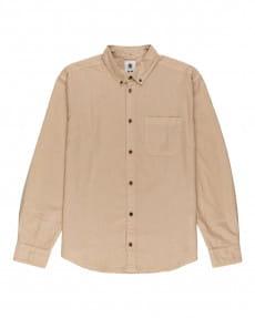 Бежевый мужская рубашка с длинными рукавами bold spring