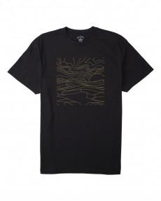 Мужская футболкаAdventure Division Lines